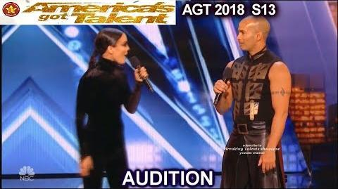 "Couples Auditions Ex's - Awkward & the ""Seriously?!"" Funny America's Got Talent 2018 Audition AGT"