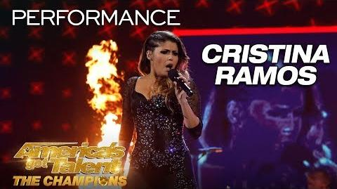 "Cristina Ramos SHOCKING Singer Performs ""Bohemian Rhapsody"" - America's Got Talent The Champions"