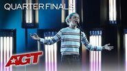 "Shy Teen Singer Benicio Bryant Performs AMAZING Original, ""Who I Am"" - America's Got Talent 2019"
