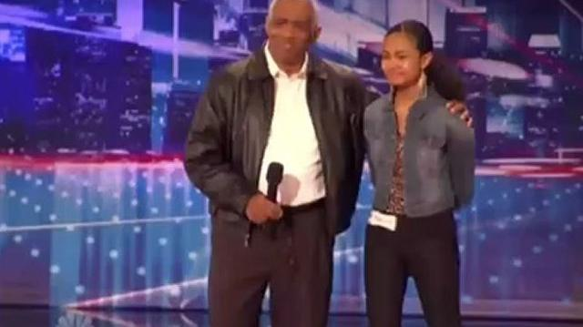 Maurice & Shanice Hayes, 62, 18 ~ AGT 2012, Auditions St