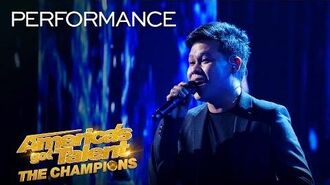 "WOW! Marcelito Pomoy Sings ""The Prayer"" With DUAL VOICES! - America's Got Talent The Champions"