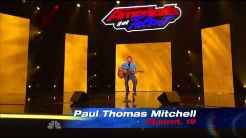 Paul Thomas Mitchell - America's Got Talent 2013 Season 8 - Vegas Week