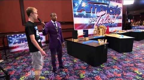 Sprice - Rube Goldberg Maker Extraordinaire - America's Got Talent 2013 Season 8 Week 3 Auditions