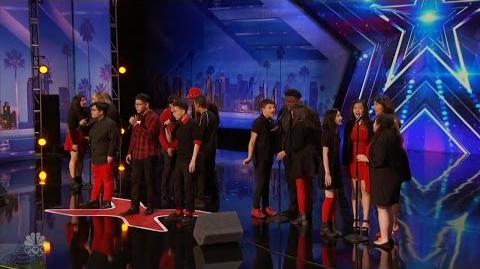 America's Got Talent 2016 Musicality Charming Urban Choir Full Audition Clip S11E02
