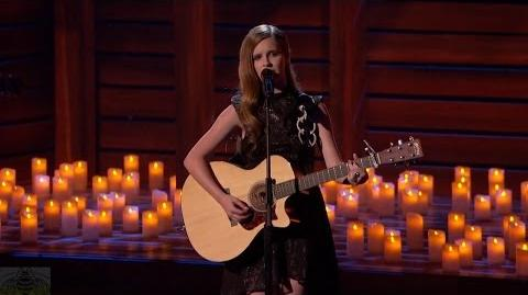 America's Got Talent 2016 Semi-Finals Kadie Lynn 12 Y.O