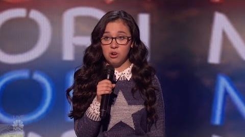 America's Got Talent 2016 Semi-Finals Comedian Lori Mae Hernandez S11E18