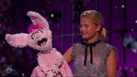"Darci Lynne ""I Don't Want To Show Off"" America's Got Talent 2018 Quarter Finals Results Week 1"