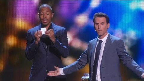 America's Got Talent 2015 S10E19 Live Shows - Oz Pearlman Mentalist Magician