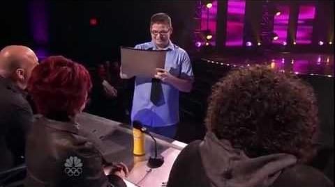 Eric Dittelman - Mind Reader - Vegas Round - America's Got Talent 2012