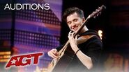 INCREDIBLE Guitarist Marcin Patrzalek Plays Unlikely Mash-Up - America's Got Talent 2019