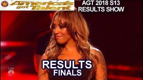Results TOP 5 Zurcaroh Duo Transcend Glennis Grace Brian King America's Got Talent 2018 Finale AGT