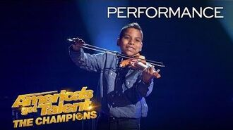 Tyler Butler-Figueroa May Make You Cry With This Emotional Song- America's Got Talent The Champions