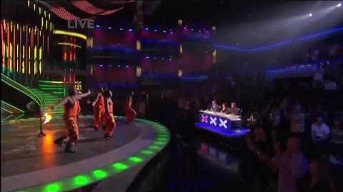 African High Flyers On Americas Got Talent Season 4