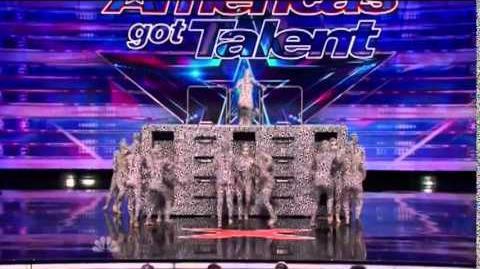 America's Got Talent 2014 Hart Dance Team Auditions 3