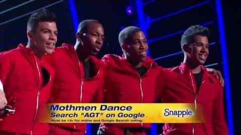 America's Got Talent S09E16 Quarterfinal Round 4 Mothmen Aerial Dance Group