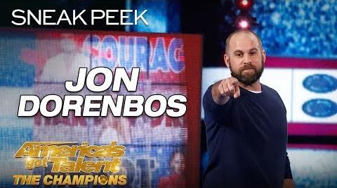 LEAK Jon Dorenbos Blows Minds With Unbelievable Magic - America's Got Talent The Champions