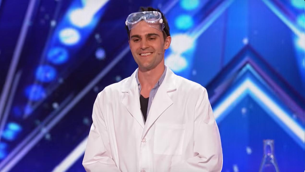Americas got talent 2017 science guy -