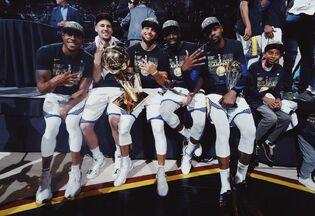 Golden State Warriors 2018 NBA Champions