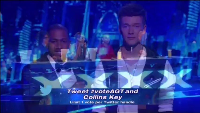 Collins Key, Top 12 Live ~ Agt 2013