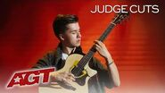 Guitar Extraordinaire Marcin Patrzalek Proves That He's A ROCK STAR! - America's Got Talent 2019