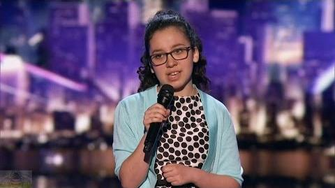 America's Got Talent 2017 Lori Mae Hernandez 13 Y.O