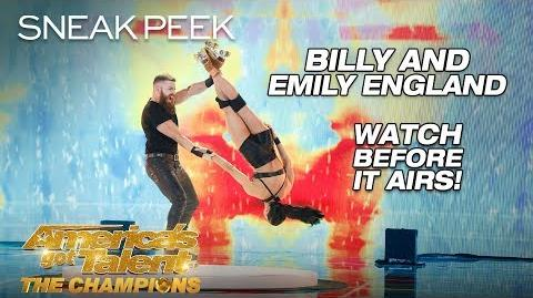 LEAK Dangerous Roller Skaters Billy & Emily Deliver EPIC Act - America's Got Talent The Champions