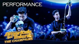 Magician Ben Hart Recreates An Indian Ritual With Rice Bowls - America's Got Talent The Champions