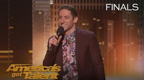 Samuel J Comroe Comedian Tells Funny Story About His Tourette Syndrome - America's Got Talent 2018