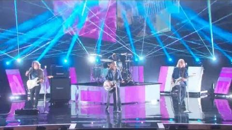 America's Got Talent 2015 S10E23 Semi-Finals - 3 Shades of Blue Rock Band