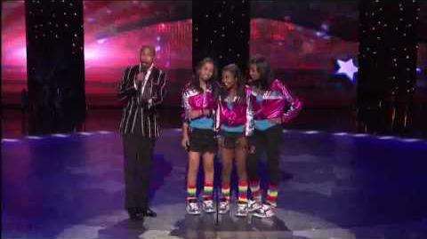 The EriAm Sisters 4th Quarter Final America's Got Talent 2009 HD www.nancylanda