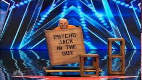 PSYCHO JACK ON AMERICA'S GOT TALENT