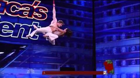 America's Got Talent 2015 Duo Catalexi Auditions 7