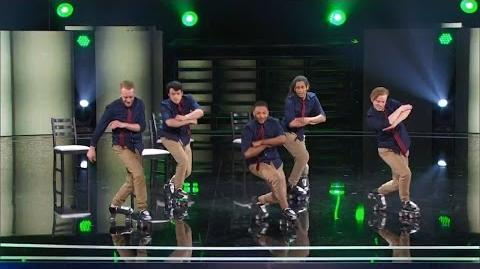 America's Got Talent 2015 S10E10 Judge Cuts - Honor Roll Skate Crew