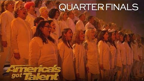 "Angel City Chorale Powerful Choir Sings ""This Is Me"" - America's Got Talent 2018"