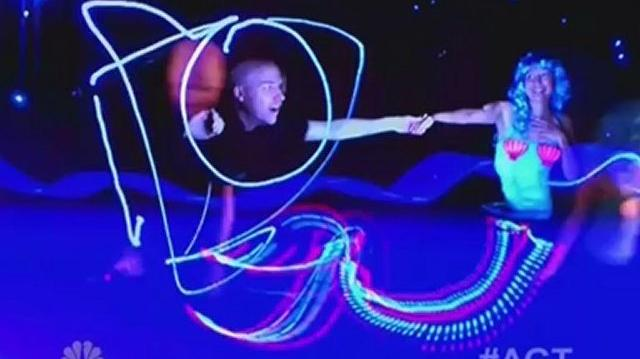 Aurora Light Painters, Austin Auditions ~ America's Got Talent 2012-0