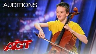 """Elijah Performs """"7 Rings"""" by Ariana Grande on the Cello! - America's Got Talent 2020"""