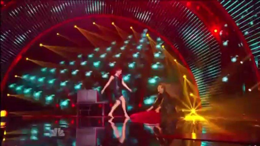 Leon Etienne & Romy Low, 2nd Semi-Final ~ Agt 2013 Live