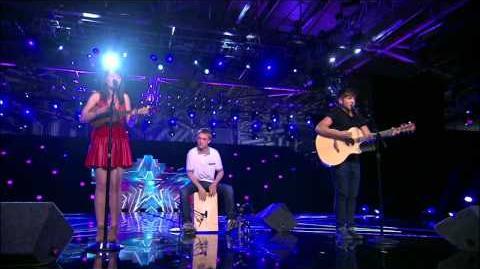 America's Got Talent S09E09 Semi-Final Music Group Acts Livy, Matt and Sammy