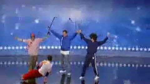 Lazylegz and illmatic Styles on America's Got Talent (2007)