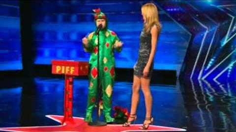 America's Got Talent 2015 Piff The Magic Dragon Auditions 1