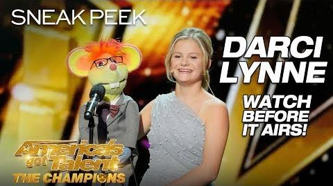 LEAK Darci Lynne Blows Minds With Stunning Ventriloquism - America's Got Talent The Champions