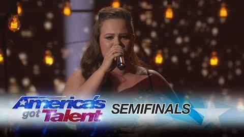 "Yoli Mayor Singer Slays Rendition Of ""Say You Won't Let Go"" - America's Got Talent 2017"
