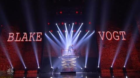 America's Got Talent 2016 Semi-Finals Magician Blake Vogt S11E18