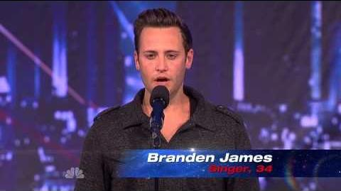 Branden James - Nessun Dorma - America's Got Talent 2013 Season 8 Week 5 Auditions