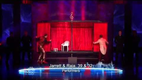 Jarrett & Raja - Performer - Vegas Round - America's Got Talent 2012