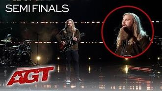 "Swedish Singer Chris Kläfford Sings Original, ""If Not With You, For You"" - America's Got Talent 2019"