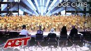 Massive Dance Team Performs Stunning High Kick To Britney Spears - America's Got Talent 2019