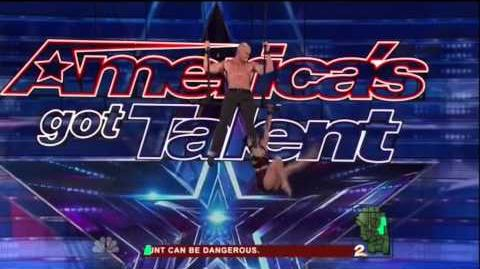 America's Got Talent 2015 Duo Volta Auditions 7