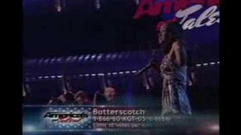 Butterscotch on Americas Got Talent Round 4
