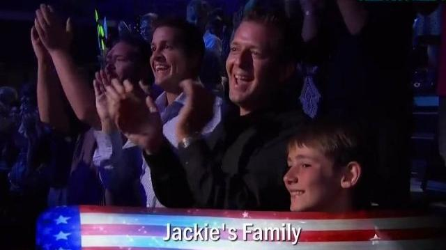 Jackie Evancho ~ America's Got Talent The Finals 2010-0